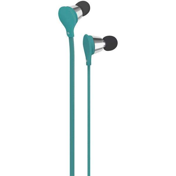 At&t Jive Noise-isolating Earbuds With Microphone (turquoise)