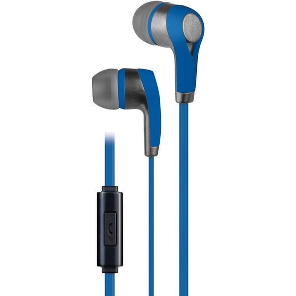 At&t Pe10 In-ear Stereo Earbuds With Microphone (blue)