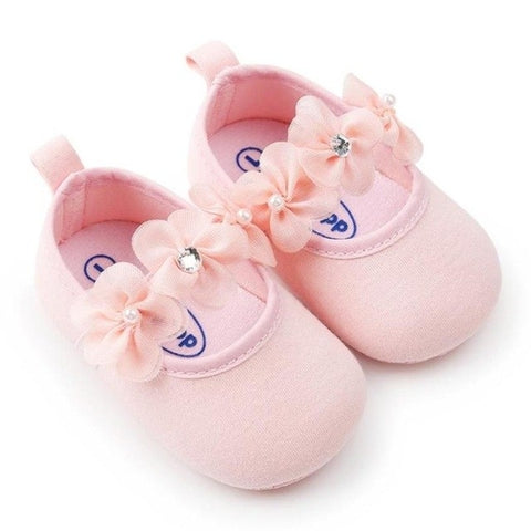 Toddler shoes Newborn Infant Baby Girl Flower