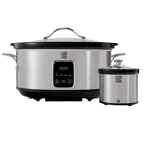 Kenmore MD-TC700  7-Quart Slow Cooker with Dipper - Stainless Steel