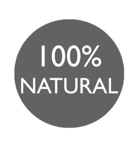 100% Natural Logo The Physic Garden