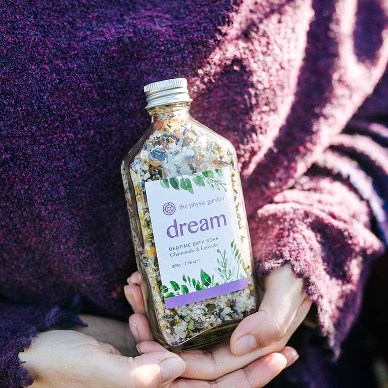 Dream Bedtime Bath Soak 220g by The Physic Garden