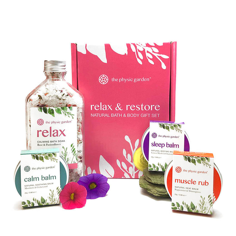 Relax & Restore Gift Set by The Physic Garden