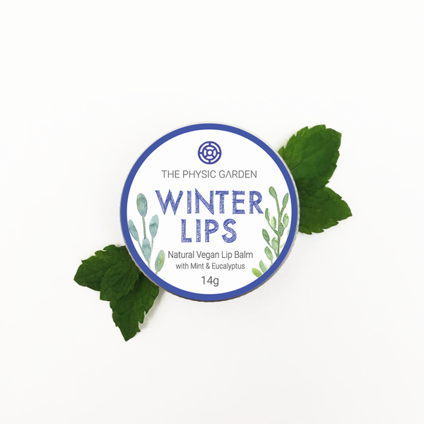 Sale - Winter Lips Lip Balm 14g - Natural, Vegan, Made in Melbourne, Australia