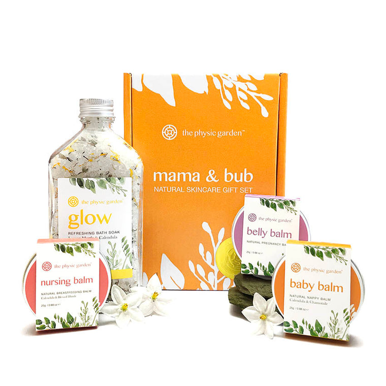 Mama & Bub Natural Skincare Collection by The Physic Garden