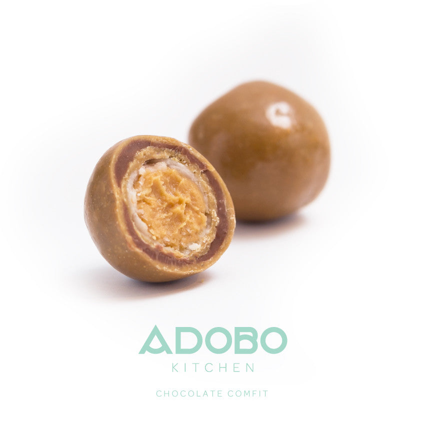 Introducing Chocolate Comfit from Adobo Kitchen.