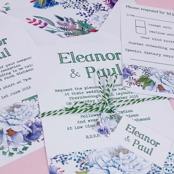 wording ideas for your wedding thank you cards  inspired