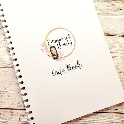 Order Book - A4 or A5 Spiral Bound with 60 pages