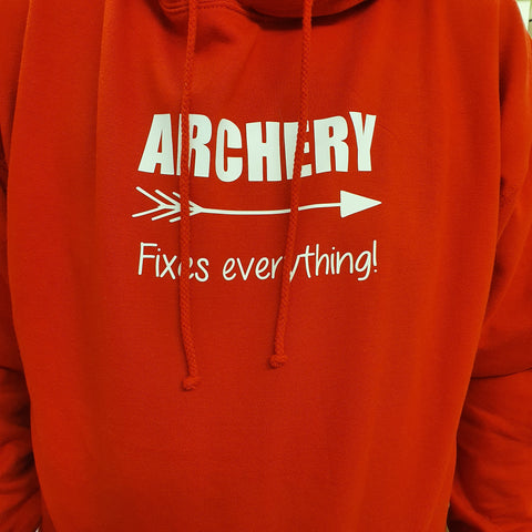 ARCHERY FIXES EVERYTHING AWD HOODIE