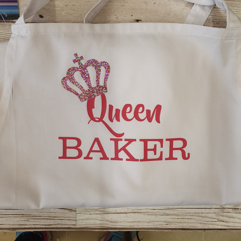 ADULT QUEEN BAKER APRON