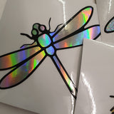 DRAGONFLY DECAL FOR WINDOW CAR LAPTOP MIRROR DRINKS BOTTLE