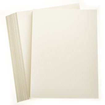 A4 Paper 100 Sheets Ivory Smooth 120gsm