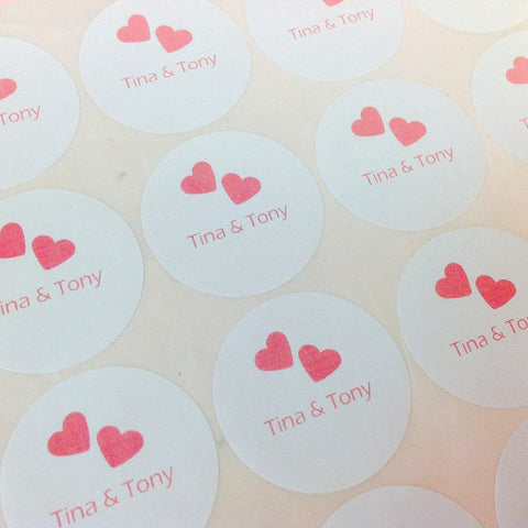 Personalised Rsvp Stickers