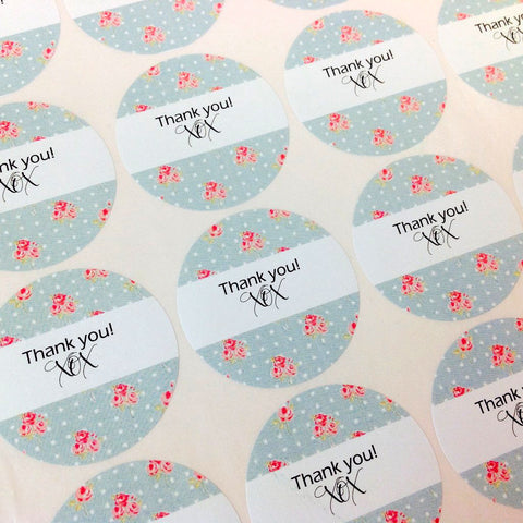 Round Stickers Name or Monogram Stickers Tags Labels