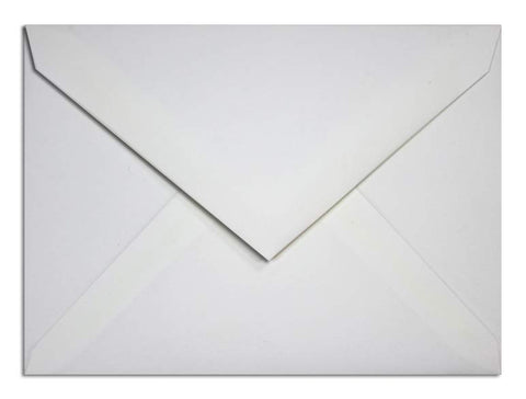 C6 Envelopes White
