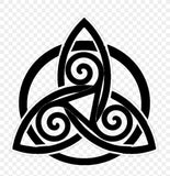 TRIQUETRA VINYL DECAL FOR WINDOW CAR LAPTOP MIRROR DRINKS BOTTLE