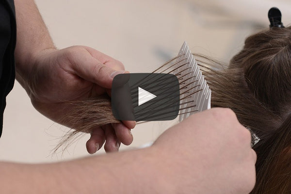 Highlight Weaving Comb For Fine Highlights Procombs