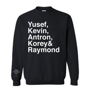 BROTHERHOOD CREWNECK - BLACK