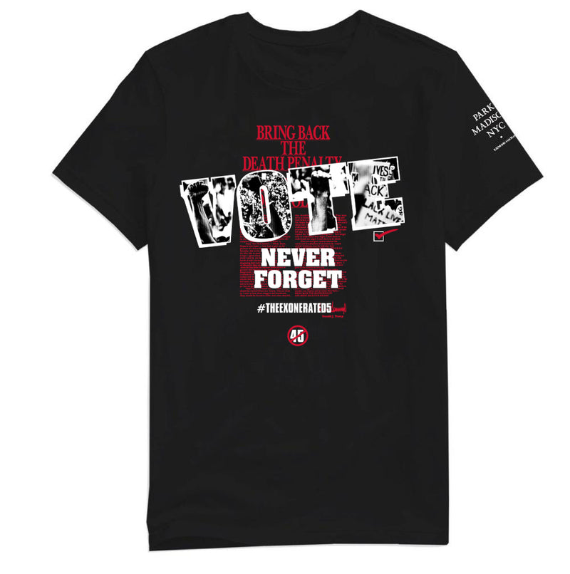 NEVER FORGET MENS TEE