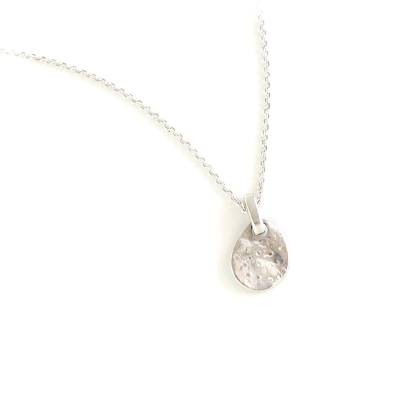 The Shore Pendant in Silver