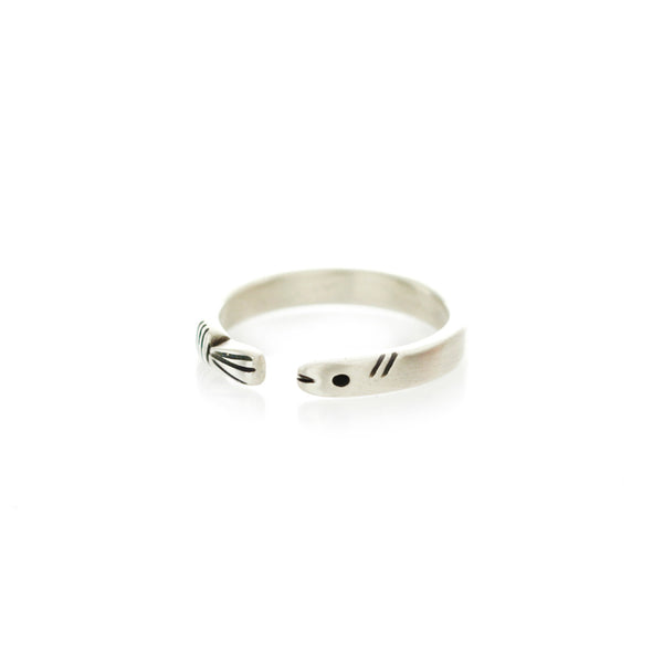 Life of Pi Flying Fish Ring in Silver