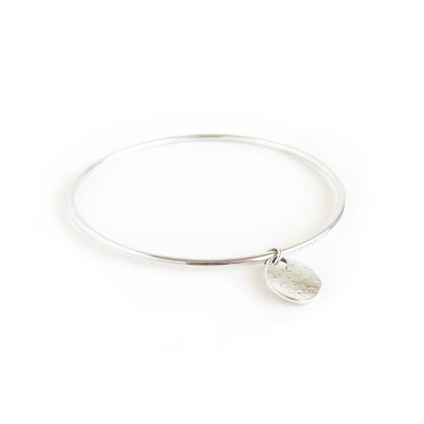 The Shore Bangle in Silver