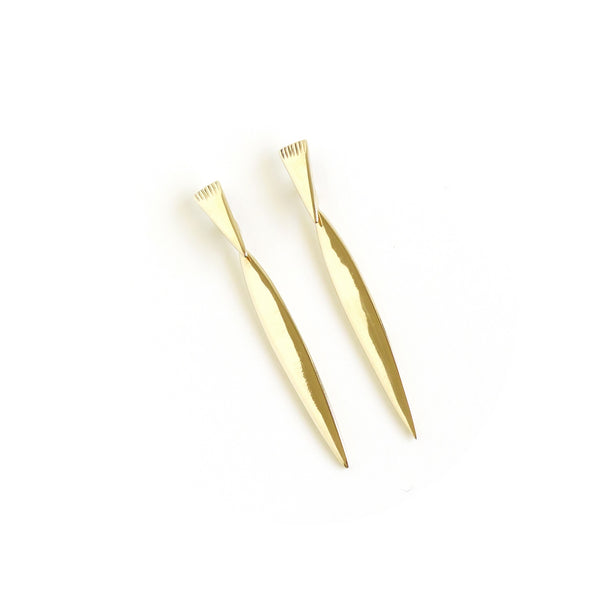 Klipvis Earrings in Yellow Gold