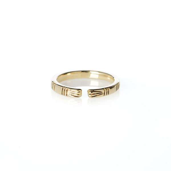Life of Pi Richard Parker Ring in Yellow Gold