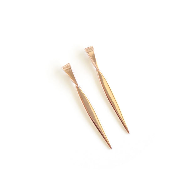 Klipvis Earrings in Rose Gold