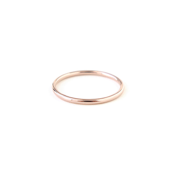 Full Round Band in Rose Gold