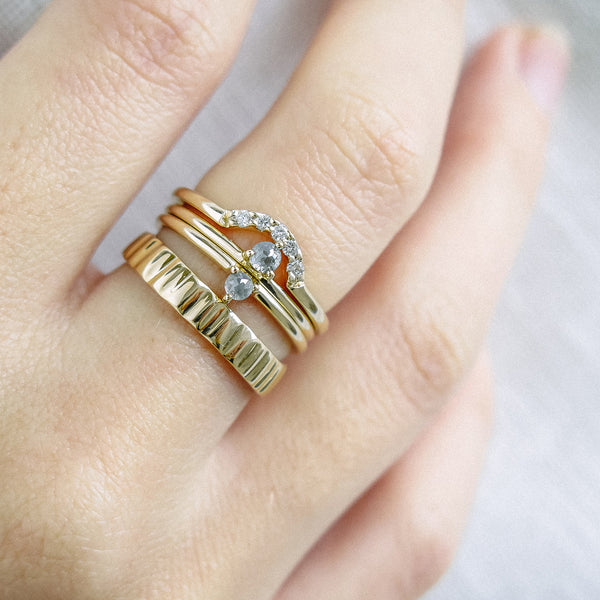The Limpet Ring in Yellow Gold