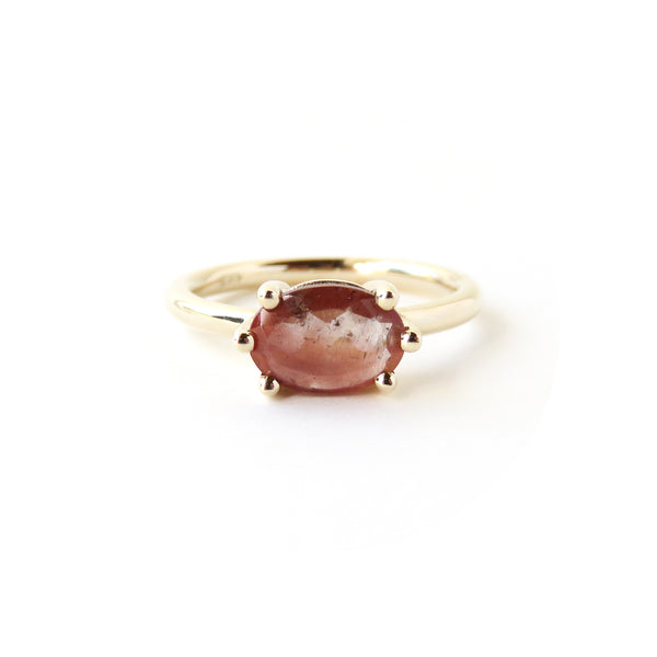 Oval Feldspar Ring