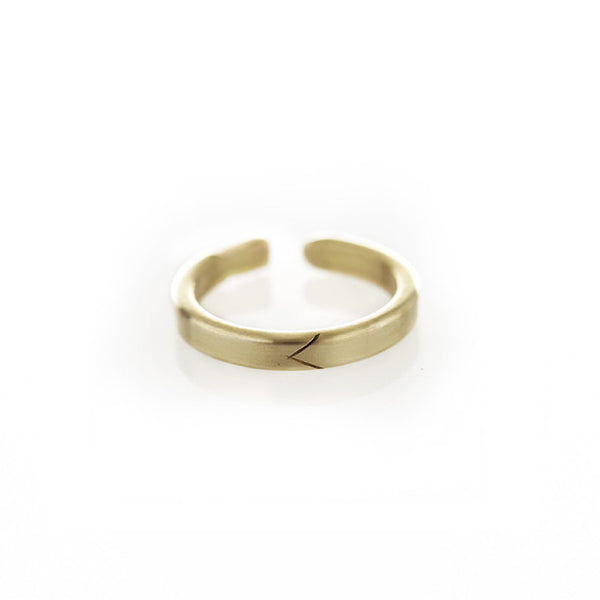 Life of Pi Flying Fish Ring in Brass