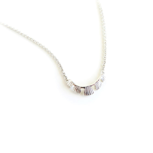 The Coral Pendant in Silver