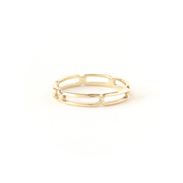 The Mantle Ring in Yellow Gold