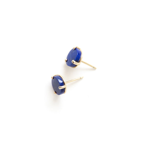 The Cosmos Earrings with Lapis Lazuli