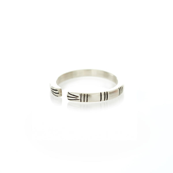 Life of Pi Richard Parker Ring in Silver