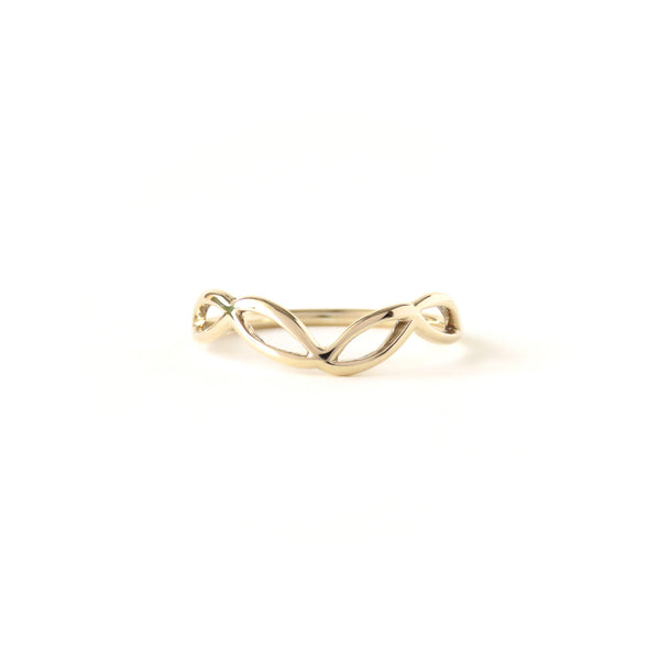 The Helix Ring in Yellow Gold