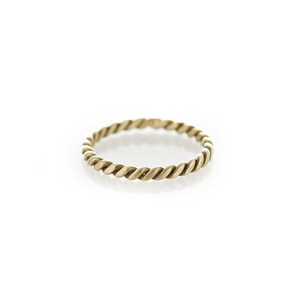 Brass Rope Ring