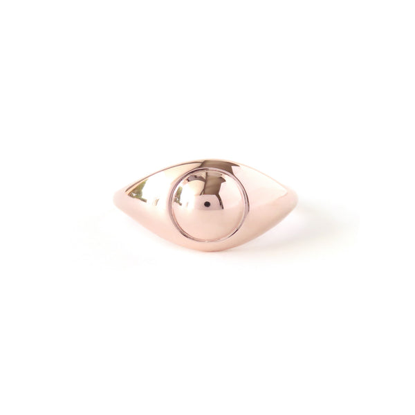 The Iris Ring in Rose Gold