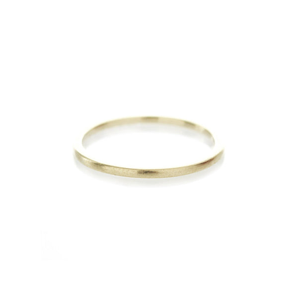 Simple Band in Yellow Gold