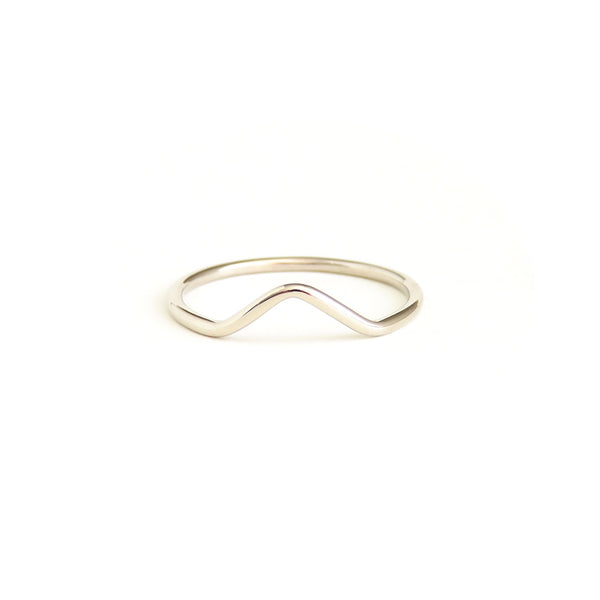 Rhythm Ring in White Gold