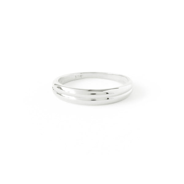 The Horizon Ring in Silver