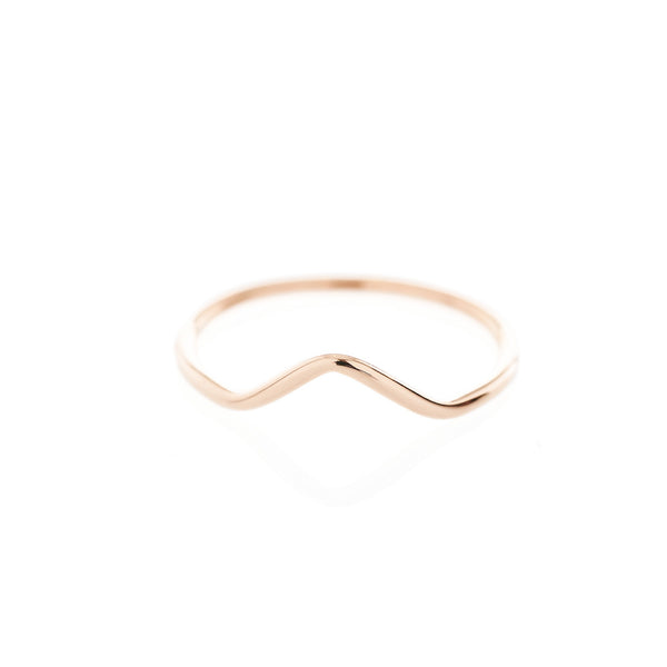 Rhythm Ring in Rose Gold