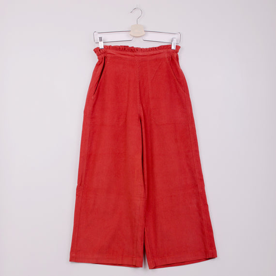 SIDELINE CLOUD TROUSERS - RED CORD