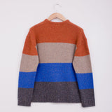 YMC BASH STREET BLOCK STRIPE KNIT - MULTI