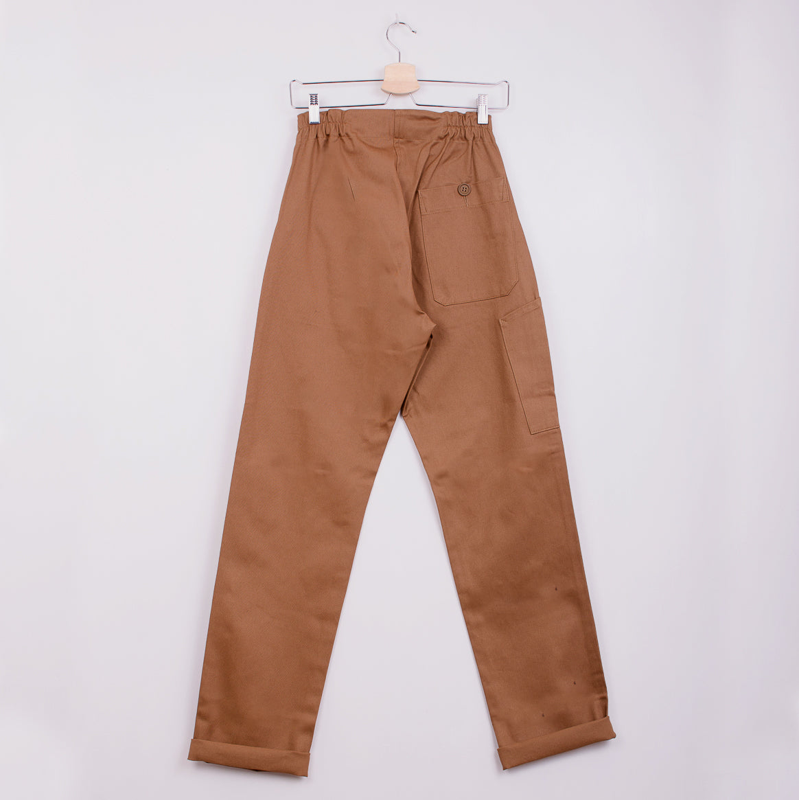 KATE SHERIDAN REE TROUSER - TOFFEE