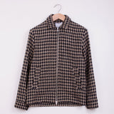 WAX WITHAM COACH JACKET - HOUNDSTOOTH