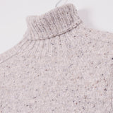KESTIN HARE EVANS ROLL NECK - PORRIDGE