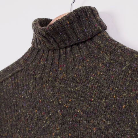 KESTIN HARE EVANS ROLL NECK - DARK FOREST